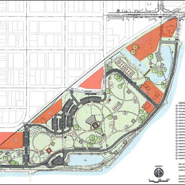 New Park Plans detailed map overview